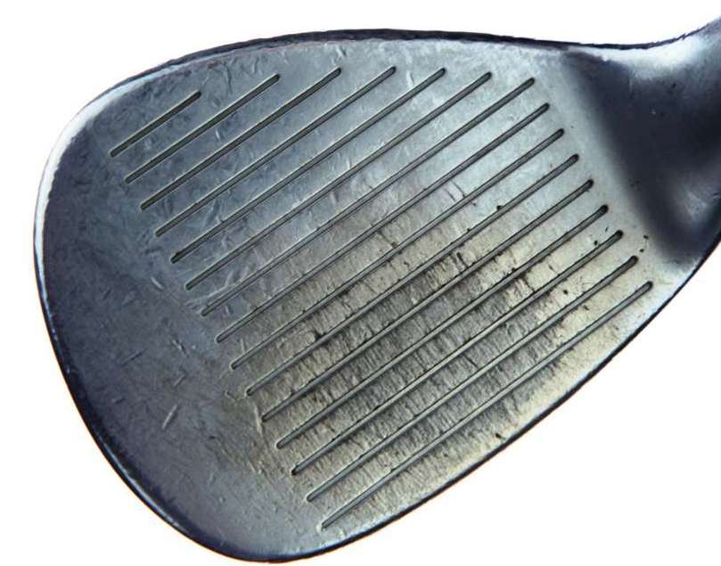 Below Average Condition Wedge Face