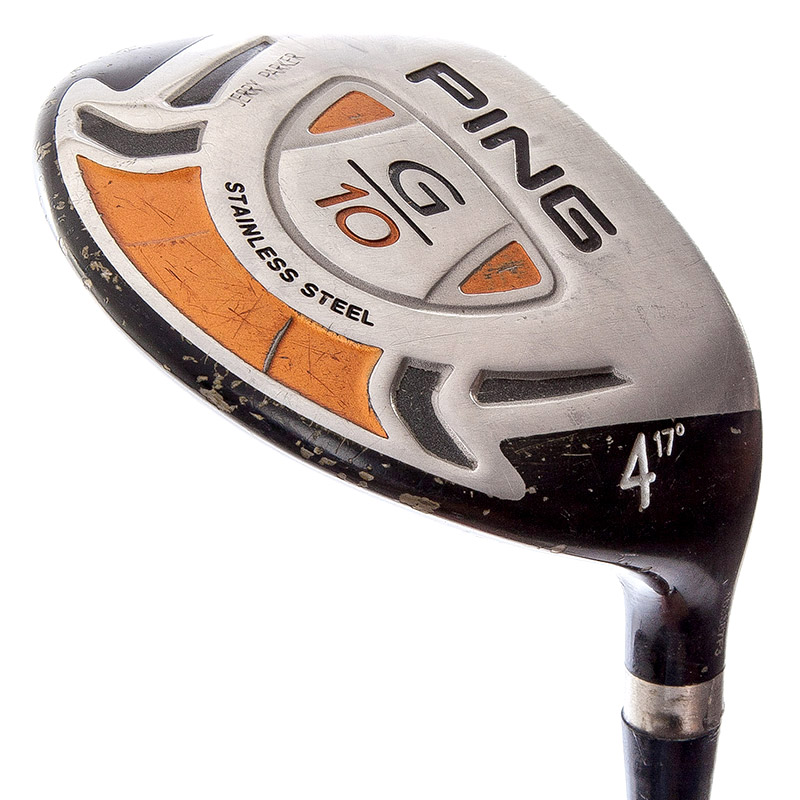 Below Average Condition Fairway Sole