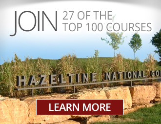 Join 27 of the top 100 clubs for golfers