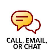 Call, Email or Chat